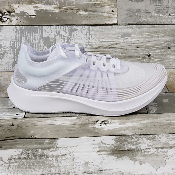 Nike Zoom Fly SP NA Men's Running Shoe WhiteWhite NWT
